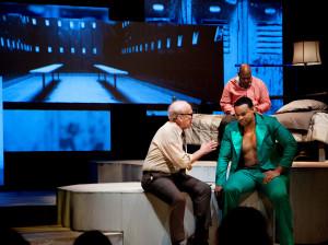 Opera Parallele and SF Jazz's 2016 production of The Champion. Photo: Steve DiBartolomeo