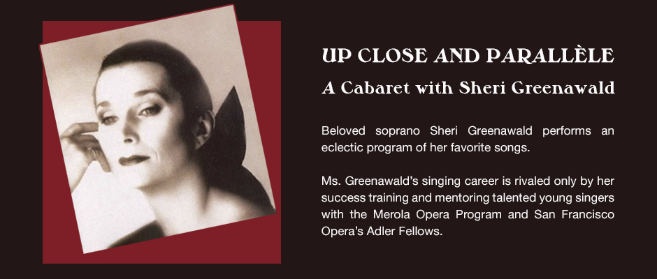 Sheri Greenawald Opera Parallele
