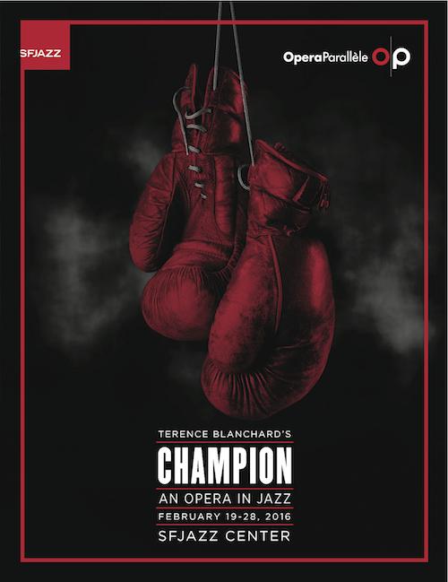 Champion boxing glove