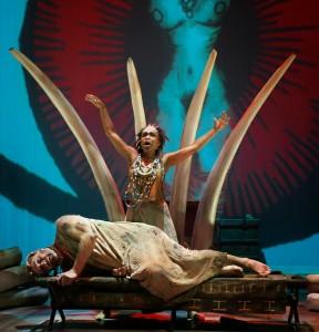 Opera Parallele's 2015 production of Heart of Darkness. Photo: Steve DiBartolomeo
