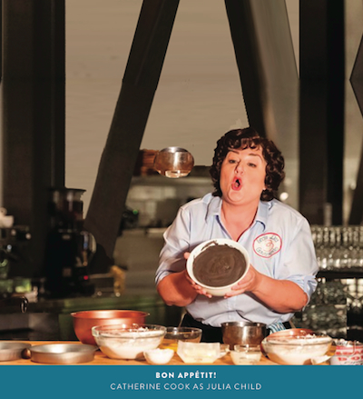 Bon Appetit Cathy Cook Julia Childs