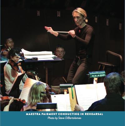 Nicole conducting