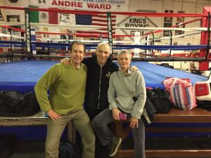 BrianJoeErin at Boxing Gym Small