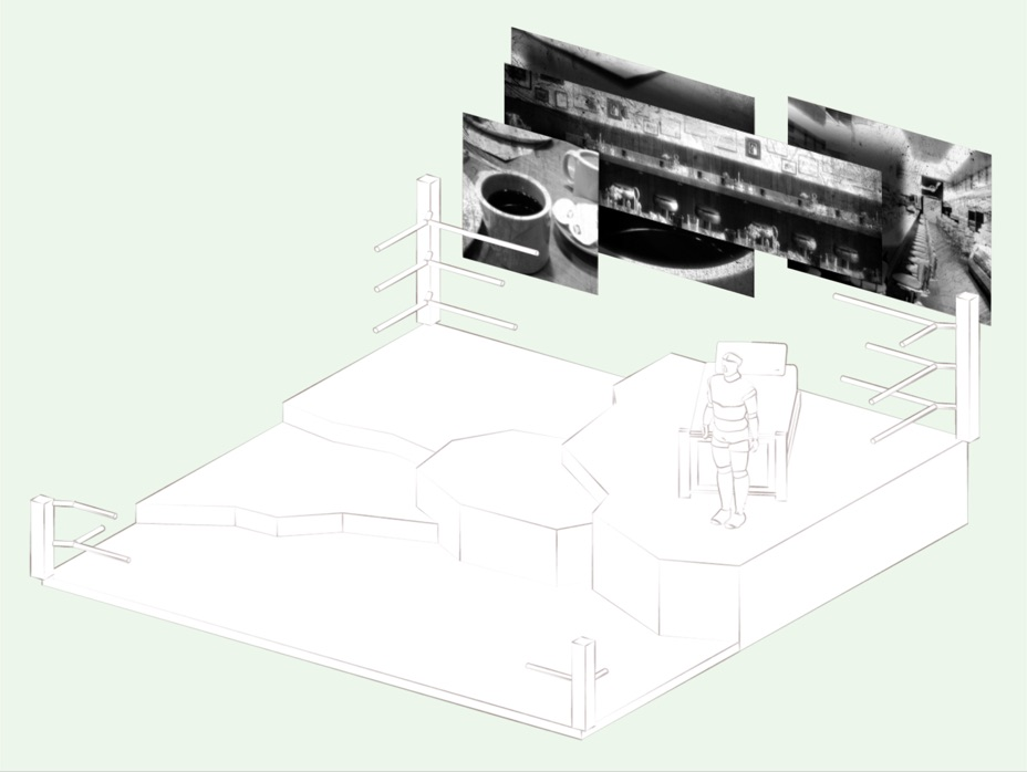 Stage and projection sketch_Champion_DavidM