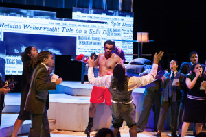 Emile winning; Opera Parallele and SFJAZZ Champion, photo by Steve di Bartolomeo