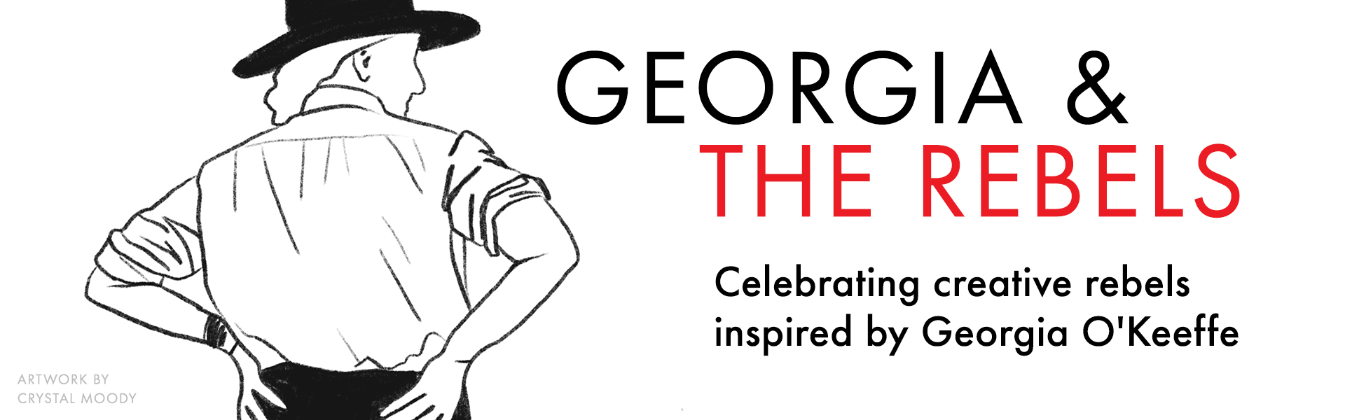 Georgia and the Rebels web banner