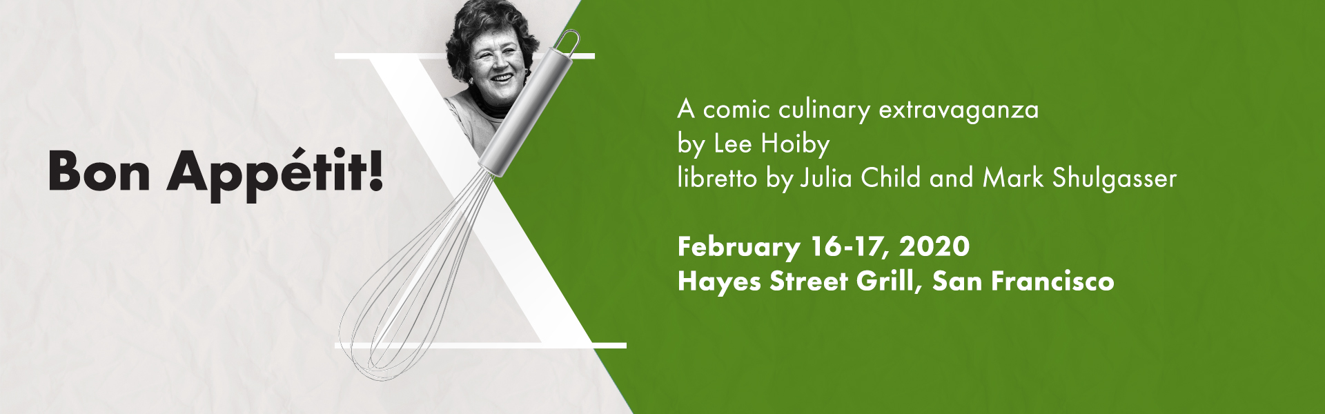 OP 2019 Productions WebBanner R1 Julia Child