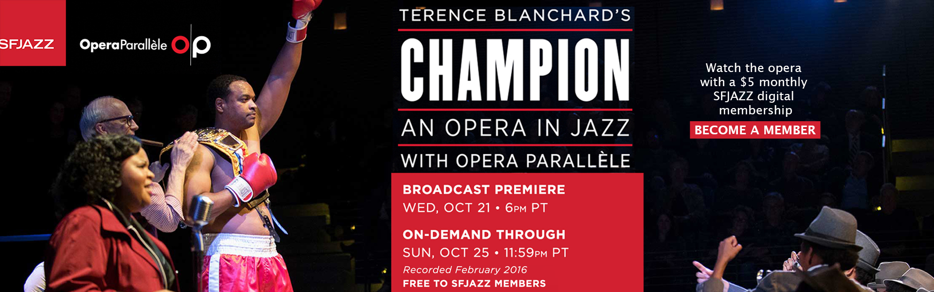 SFJAZZ & OP co-present Terence Blanchard's Champion